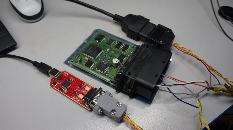 ECU CAN-Hacker canbus diag